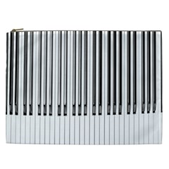 Abstract Piano Keys Background Cosmetic Bag (xxl)