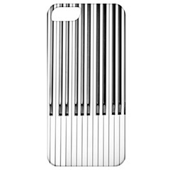 Abstract Piano Keys Background Apple Iphone 5 Classic Hardshell Case