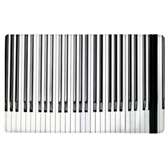 Abstract Piano Keys Background Apple iPad 2 Flip Case