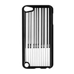 Abstract Piano Keys Background Apple iPod Touch 5 Case (Black)