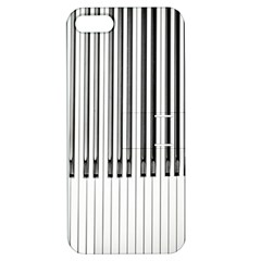 Abstract Piano Keys Background Apple iPhone 5 Hardshell Case with Stand