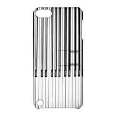 Abstract Piano Keys Background Apple iPod Touch 5 Hardshell Case with Stand