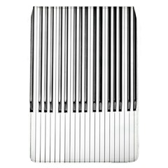Abstract Piano Keys Background Flap Covers (L)