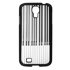 Abstract Piano Keys Background Samsung Galaxy S4 I9500/ I9505 Case (Black)