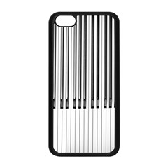 Abstract Piano Keys Background Apple Iphone 5c Seamless Case (black)