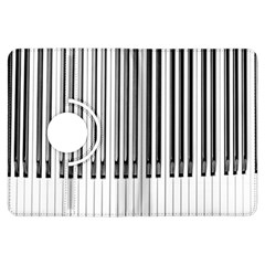 Abstract Piano Keys Background Kindle Fire Hdx Flip 360 Case