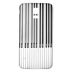 Abstract Piano Keys Background Samsung Galaxy S5 Back Case (White)