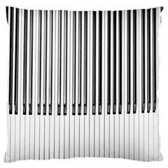 Abstract Piano Keys Background Standard Flano Cushion Case (One Side)