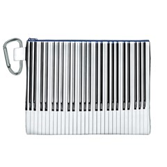 Abstract Piano Keys Background Canvas Cosmetic Bag (xl)