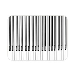 Abstract Piano Keys Background Double Sided Flano Blanket (Mini)