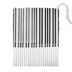 Abstract Piano Keys Background Drawstring Pouches (xxl)