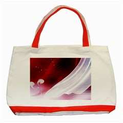 Dreamworld Studio 2d Illustration Of Beautiful Studio Setting Classic Tote Bag (Red)
