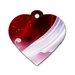 Dreamworld Studio 2d Illustration Of Beautiful Studio Setting Dog Tag Heart (Two Sides)