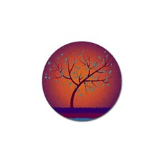 Beautiful Tree Background Golf Ball Marker (10 pack)