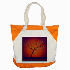 Beautiful Tree Background Accent Tote Bag