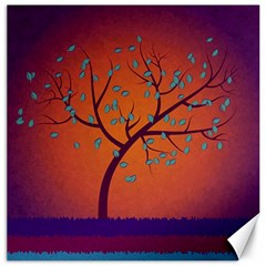 Beautiful Tree Background Canvas 12  X 12