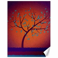 Beautiful Tree Background Canvas 18  x 24