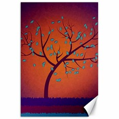Beautiful Tree Background Canvas 20  x 30