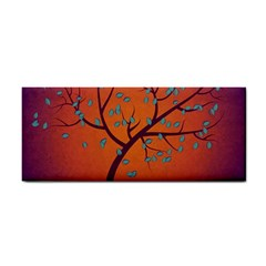 Beautiful Tree Background Cosmetic Storage Cases