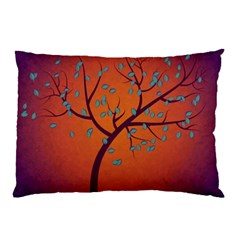 Beautiful Tree Background Pillow Case