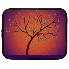 Beautiful Tree Background Netbook Case (xxl)