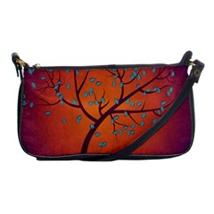 Beautiful Tree Background Shoulder Clutch Bags
