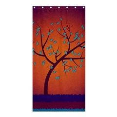 Beautiful Tree Background Shower Curtain 36  X 72  (stall)