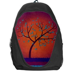 Beautiful Tree Background Backpack Bag