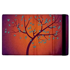 Beautiful Tree Background Apple Ipad 2 Flip Case