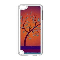 Beautiful Tree Background Apple Ipod Touch 5 Case (white)