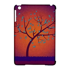 Beautiful Tree Background Apple Ipad Mini Hardshell Case (compatible With Smart Cover)