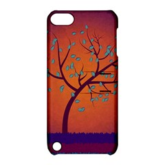 Beautiful Tree Background Apple Ipod Touch 5 Hardshell Case With Stand