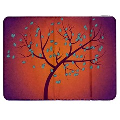 Beautiful Tree Background Samsung Galaxy Tab 7  P1000 Flip Case
