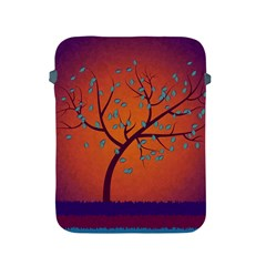 Beautiful Tree Background Apple iPad 2/3/4 Protective Soft Cases