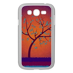 Beautiful Tree Background Samsung Galaxy Grand DUOS I9082 Case (White)