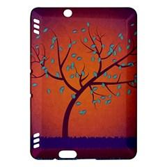 Beautiful Tree Background Kindle Fire Hdx Hardshell Case