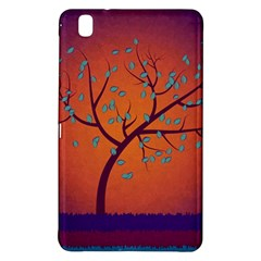 Beautiful Tree Background Samsung Galaxy Tab Pro 8.4 Hardshell Case
