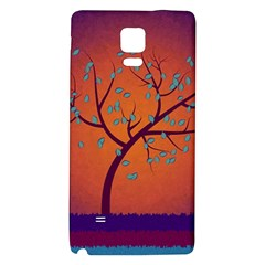 Beautiful Tree Background Galaxy Note 4 Back Case