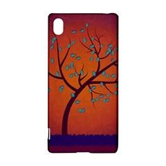 Beautiful Tree Background Sony Xperia Z3+