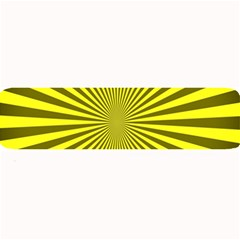 Sunburst Pattern Radial Background Large Bar Mats