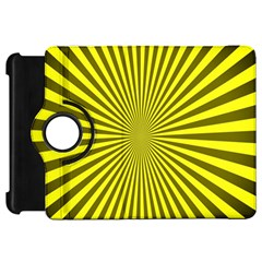 Sunburst Pattern Radial Background Kindle Fire Hd 7