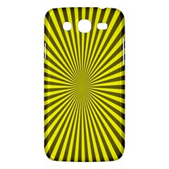 Sunburst Pattern Radial Background Samsung Galaxy Mega 5.8 I9152 Hardshell Case