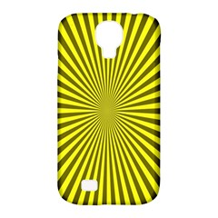 Sunburst Pattern Radial Background Samsung Galaxy S4 Classic Hardshell Case (PC+Silicone)