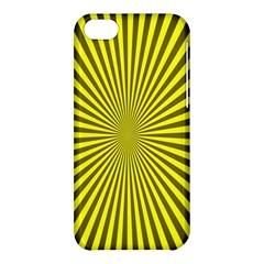 Sunburst Pattern Radial Background Apple iPhone 5C Hardshell Case