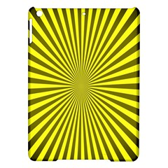 Sunburst Pattern Radial Background iPad Air Hardshell Cases