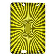Sunburst Pattern Radial Background Amazon Kindle Fire Hd (2013) Hardshell Case