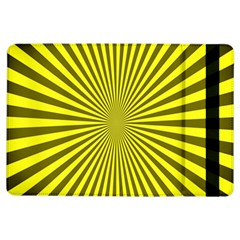 Sunburst Pattern Radial Background iPad Air Flip
