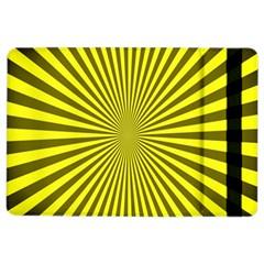 Sunburst Pattern Radial Background Ipad Air 2 Flip