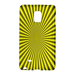 Sunburst Pattern Radial Background Galaxy Note Edge