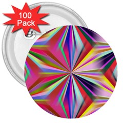 Star A Completely Seamless Tile Able Design 3  Buttons (100 pack)